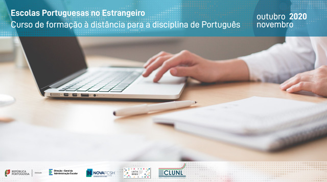 Curso de formação à distância para a disciplina de Português