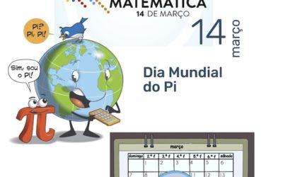 14 de março: Dia do Pi / Dia Internacional da Matemática