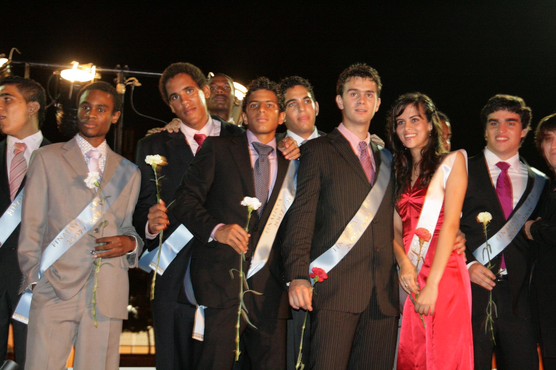 Baile de finalistas 2007-2008