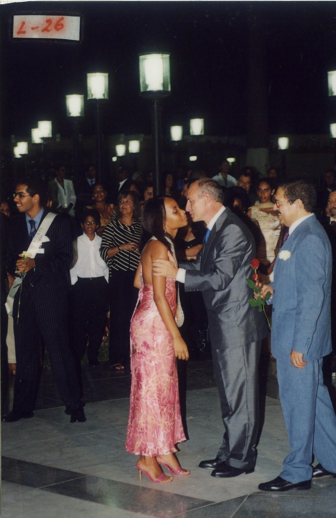 baile de finalistas Parque Heróis de Chaves 2003-2004