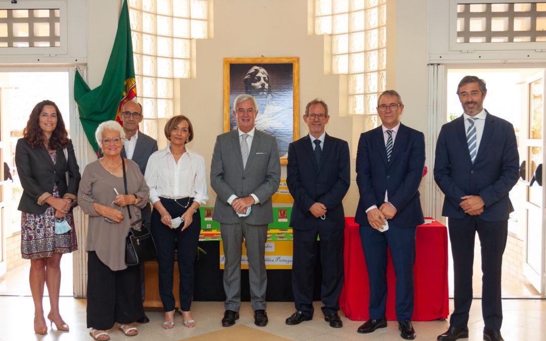 Comemoração do dia 5 de outubro na Escola Portuguesa de Luanda